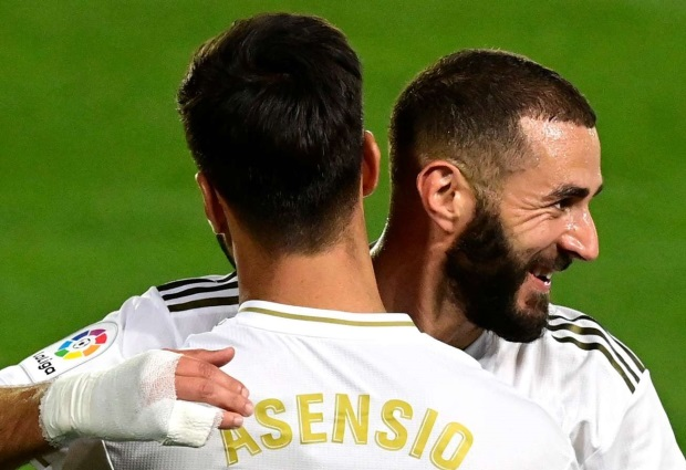 Real Madrid 3 -0 Valencia: Asensio scores on comeback as Benzema bags brilliant double