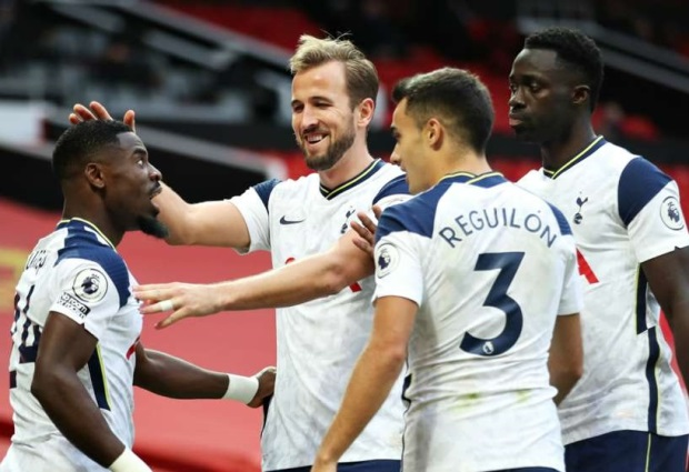 Manchester United 1-6 Tottenham: Solskjaer's sorry side suffer joint-record home defeat