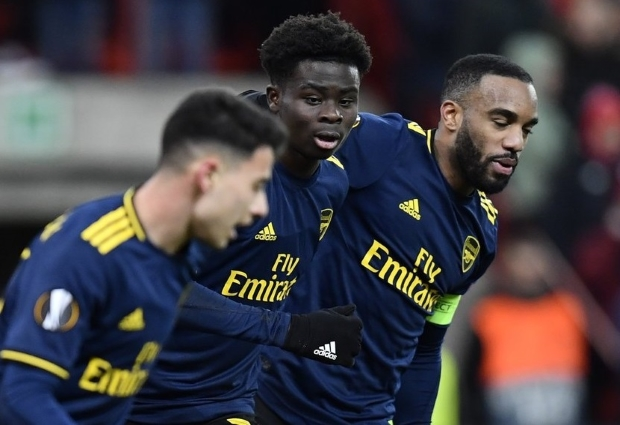Standard Liege 2 -2 Arsenal: Lacazette and Saka inspire fightback as Gunners win the group