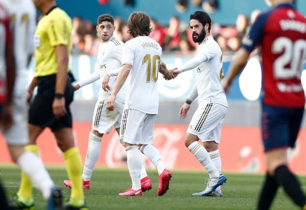 Osasuna 1-4 Real Madrid: Isco, Ramos inspire comeback for leaders