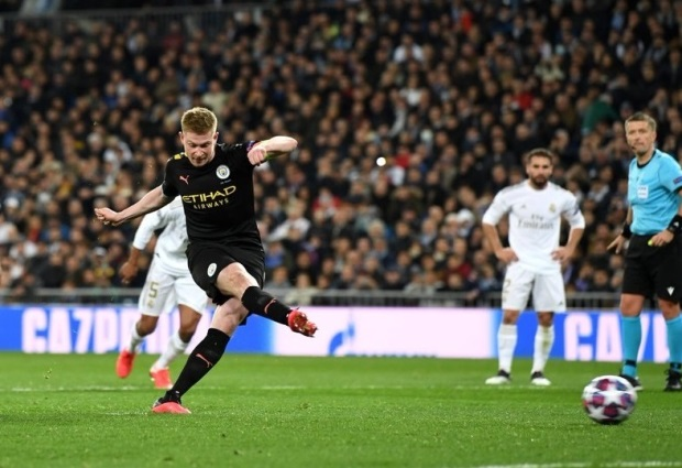 Real Madrid 1 -2 Manchester City: Gabriel Jesus and Kevin De Bruyne seal stunning comeback