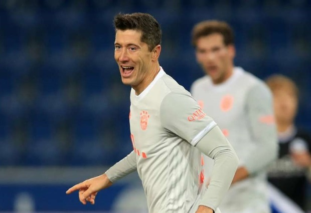 Arminia Bielefeld 1-4 Bayern Munich: Lewandowski continues hot scoring streak as Tolisso sees red