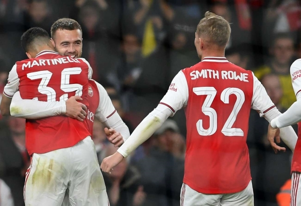 Arsenal 5-0 Nottingham Forest: Martinelli opens account as Arsenal cruise into fourth round