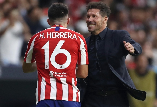 Atletico Madrid 2 -2 Juventus: Late Herrera header earns Group D draw