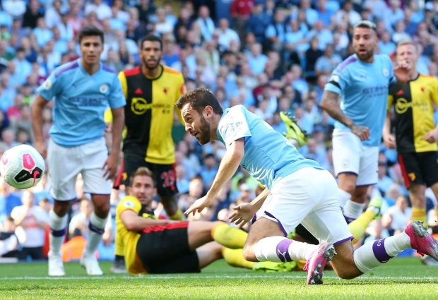 Manchester City 8 -0 Watford: Bernardo Silva hits hat-trick in record rout