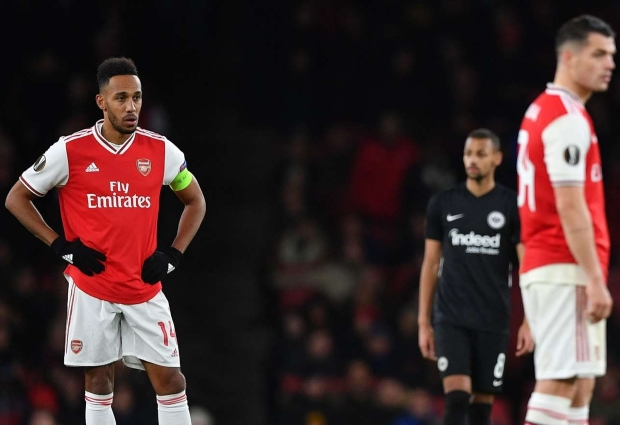 Arsenal 1 -2 Eintracht Frankfurt: Kamada double sees misery mount for Emery
