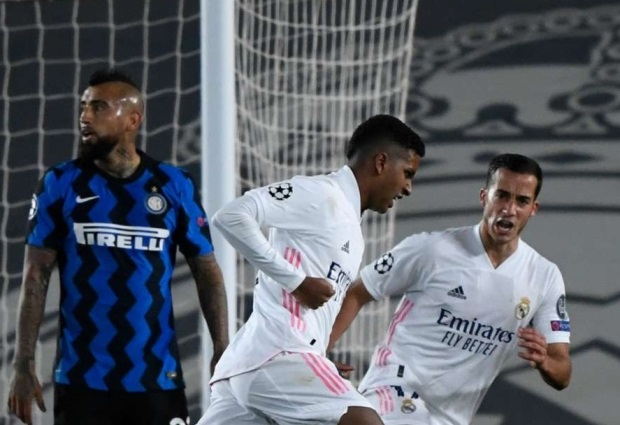 Real Madrid 3-2 Inter: Rodrygo rescues Zidane's men late on