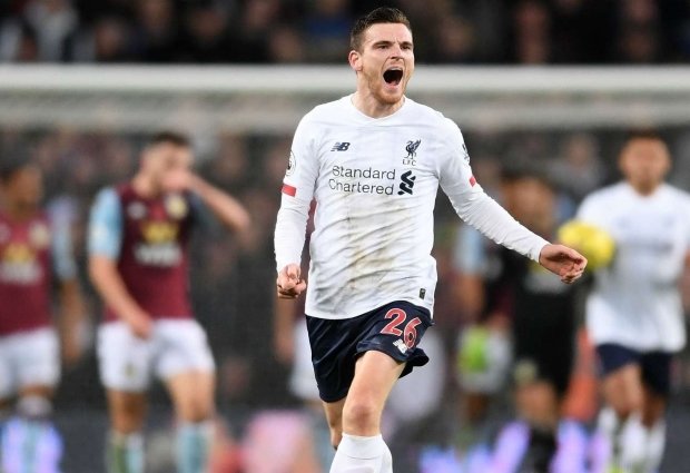 Aston Villa 1 -2 Liverpool: Mane and Robertson strike for Reds to secure last-gasp win