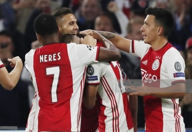 Ajax Amsterdam 3 -0 Lille: Ten Hag's men start Champions League campaign in style