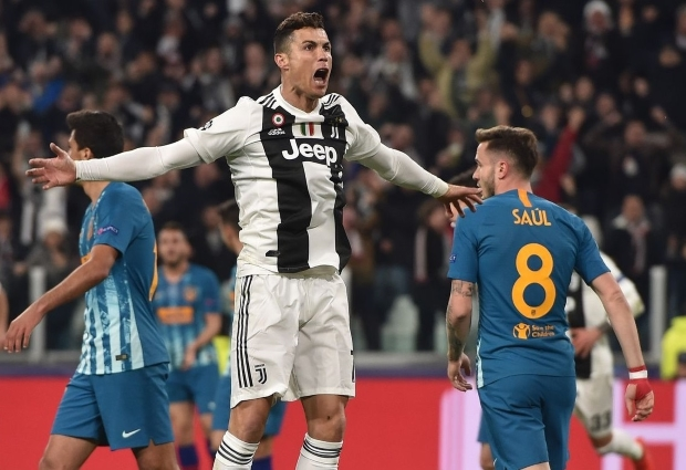 Juventus 3 -0 Atletico Madrid: Ronaldo hat-trick completes comeback