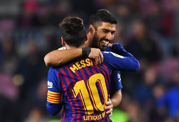 Barcelona 3 -1 Leganes: Messi and Suarez combine to spare Barca's blushes