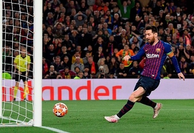 Barcelona 3 -0 Liverpool: Lionel Messi brings up 600 Barca goals