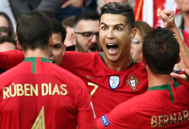 Portugal - Switzerland  3-1: Ronaldo lights up Nations League finals with more records in sight