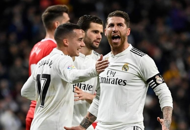 Real Madrid 4 -2 Girona : Ramos double earns quarter-final lead