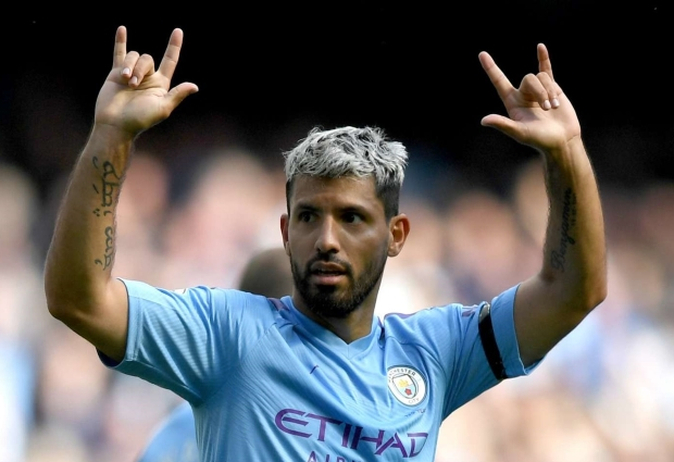 Manchester City 4 -0 Brighton and Hove Albion: Aguero brace soured by Laporte injury