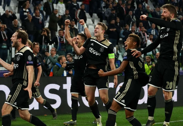 Europe's elite: The cost of Ajax's squad compared to Madrid, Juventus, PSG