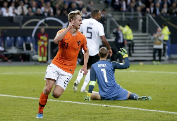 Germany 2- 4 Netherlands: Malen's dream debut helps settle Group C thriller