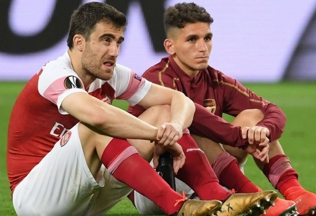 Sokratis apologises for Europa League final showing - 'Sorry to every single Arsenal fan around the world'