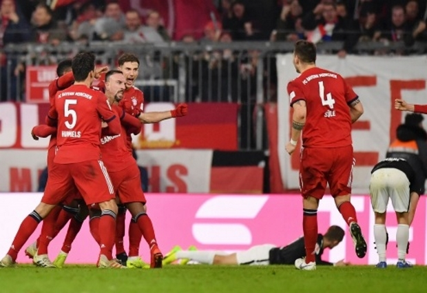 Bayern Munich 1 - 0 RB Leipzig: Franck Ribery keeps cool amid feisty finish