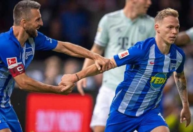 Hertha Berlin 2 -0 Bayern Munich: Champions stunned as Kovac suffers first defeat