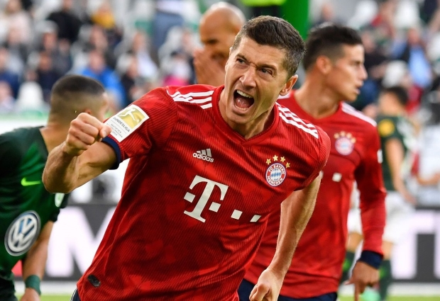 Wolfsburg 1 -3 Bayern Munich: Lewandowski leads Kovac out of trouble