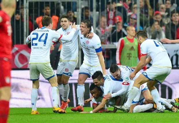 FSV Mainz 05  1- 2 Bayern Munich: Thiago strike gets champions off the hook