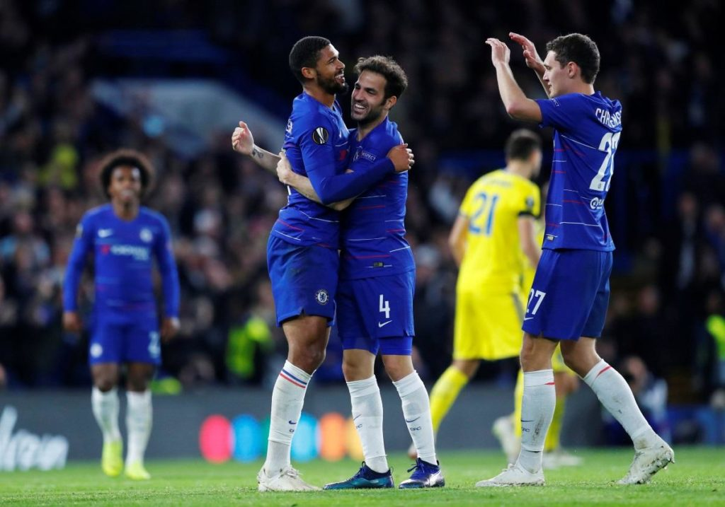 Chelsea 3 -1 BATE: Loftus-Cheek hat-trick sends message to Sarri