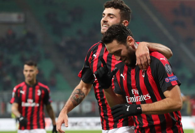 AC Milan 5 -2 Dudelange: Crisis averted with second-half goal glut