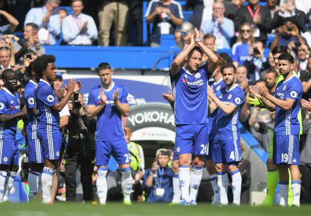 Chelsea 5 -1 Sunderland: Terry bids emotional farewell as champions cruise