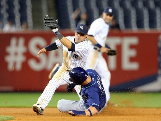 MLB: Rays blow lead, beat Yankees 4-3 in 12 innings